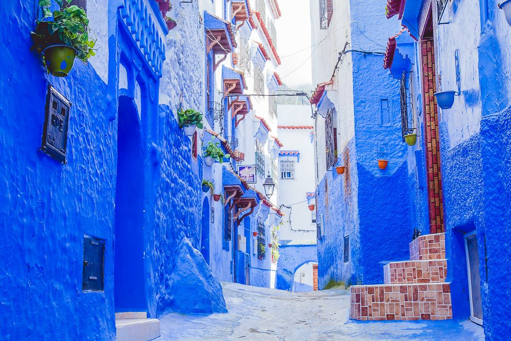 The Truth About Morocco's Blue City, Chefchaouen Blue