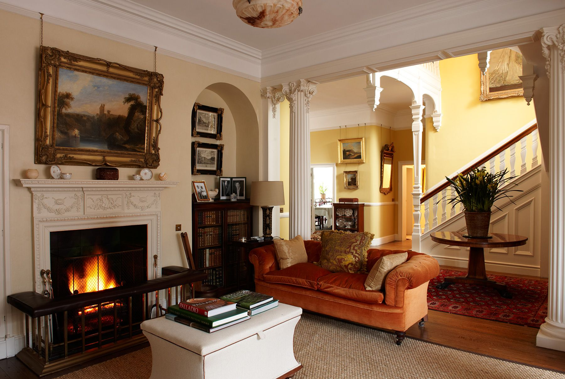 Home interior design drawing room interior design  country houses suffolktodhunter earle  mues