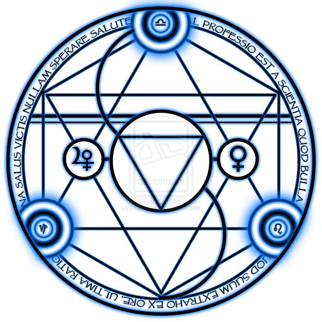 Transmutation Circle Tattoo: Bronze Transmutation Circle By ~bagstoper On DeviantART