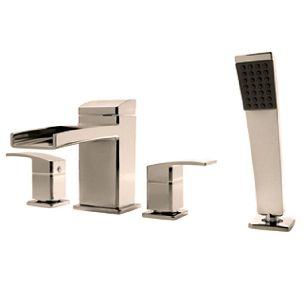 Pfister Kenzo 2 Handle Deck Mount Roman Tub Faucet Trim Kit with