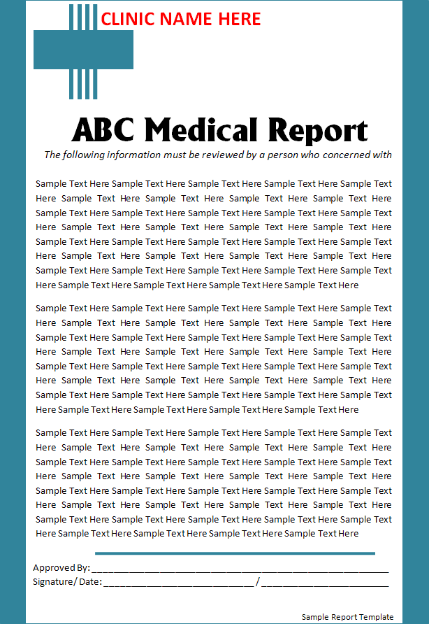 Medical Report Is A Document Prepared By A Doctor Physician Or