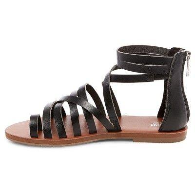 2ec1bdbf2db Women s Jessie Gladiator Sandals - Mossimo Supply Co. Black 5.5 ...