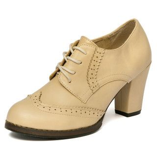 Wingtip+Oxford+Pumps+from+#YesStyle+<3+yeswalker+YesStyle.com