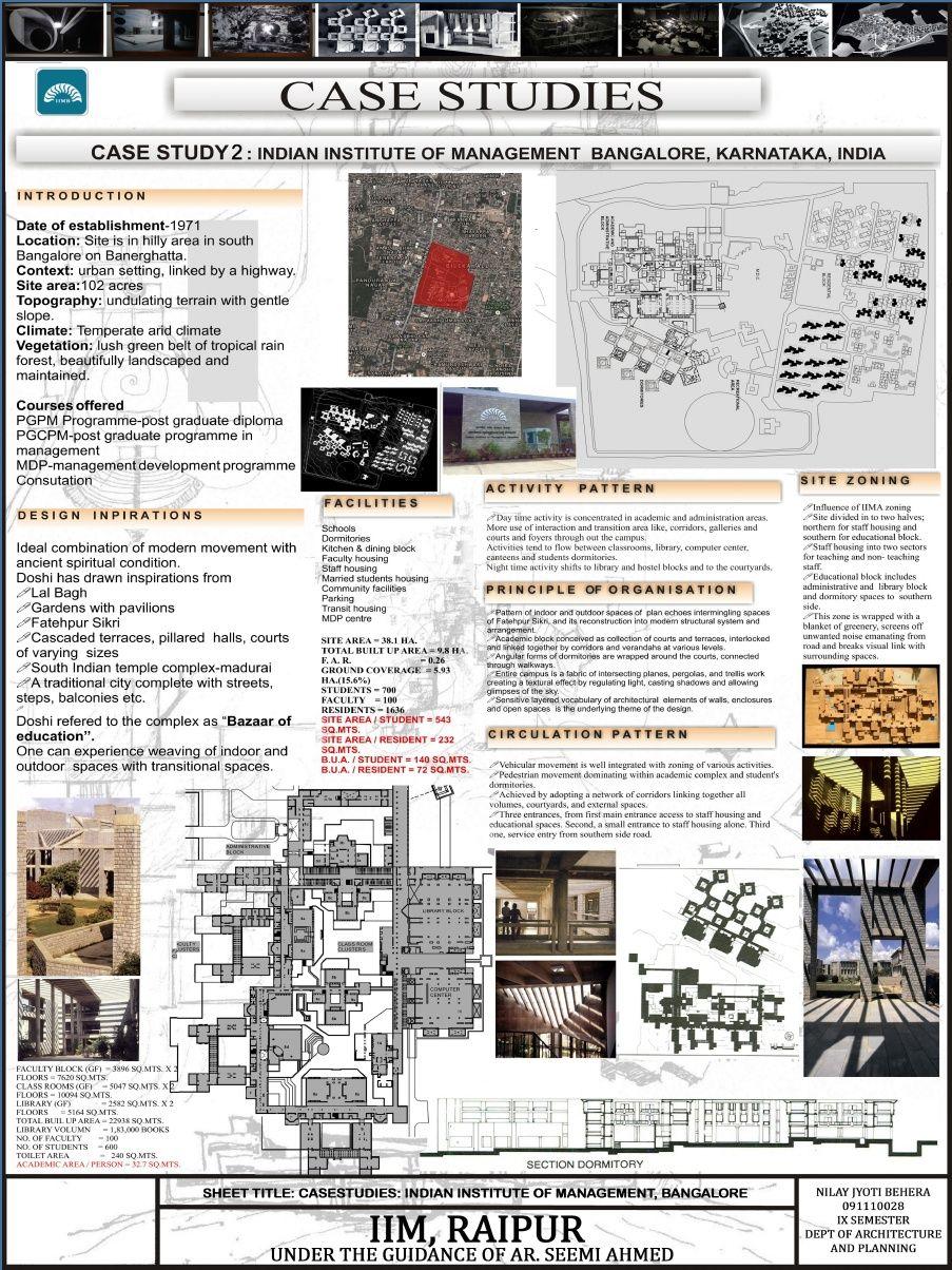 Iim Bangalore Case Study Design Architectural Thesis Landscape Architecture Dissertation Pdf