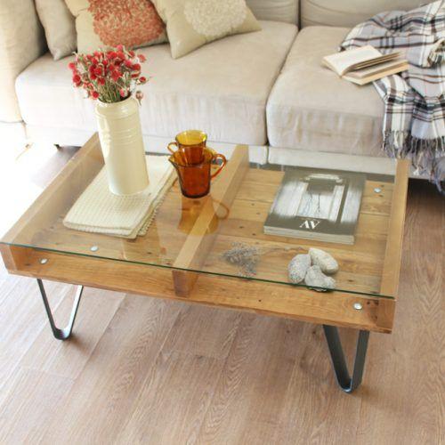 Cervino mesa industrial madera muebles de madera for Muebles de madera reciclada
