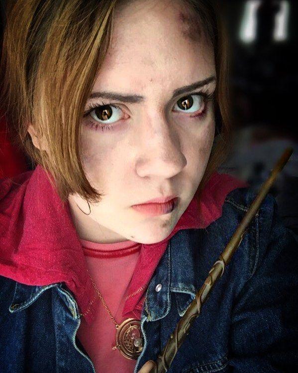 #cosplaymakeup #hermionegranger #deathlyhallows #harrypotter #potterhead #cosplay #cosplayer