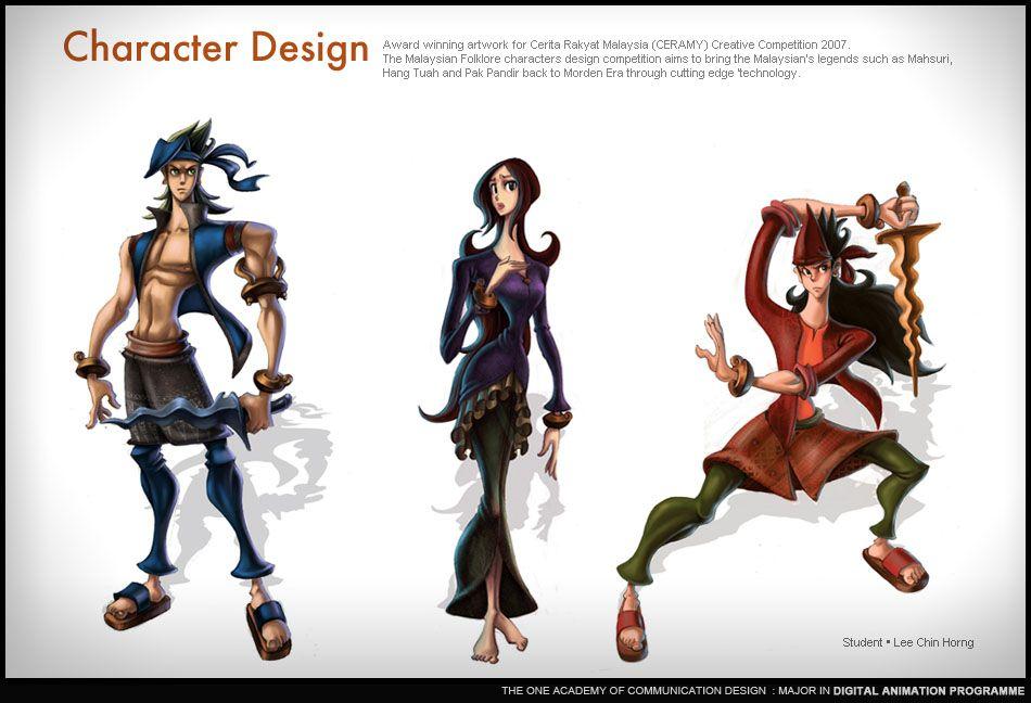 Lee Chin Horng L Award Winning Character Design Fashion Design Patterns College Design Character Design