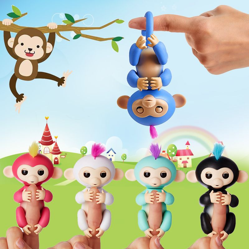 Fingerlings Affe Interaktive Baby Affen Smart Bunte FingersLlings ...