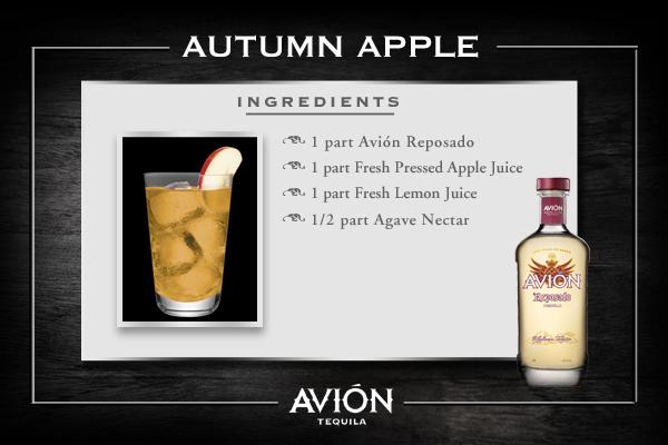 Avión Autumn Apple. (#cocktail, #tequila, #drink, #apple, #fall ...