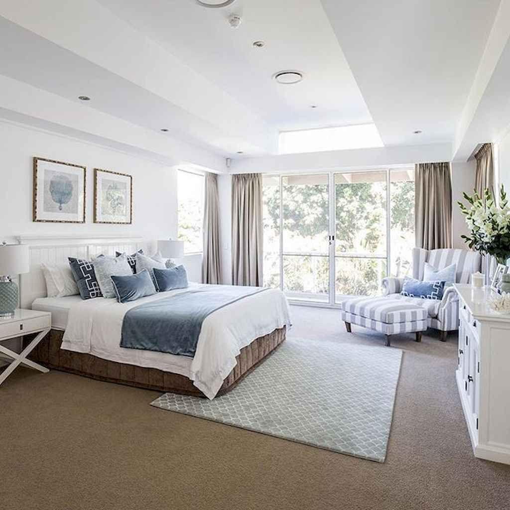 Hamptons Inspired Luxury Home Master Bedroom Robeson: 85 Minimalist Master Bedroom Ideas