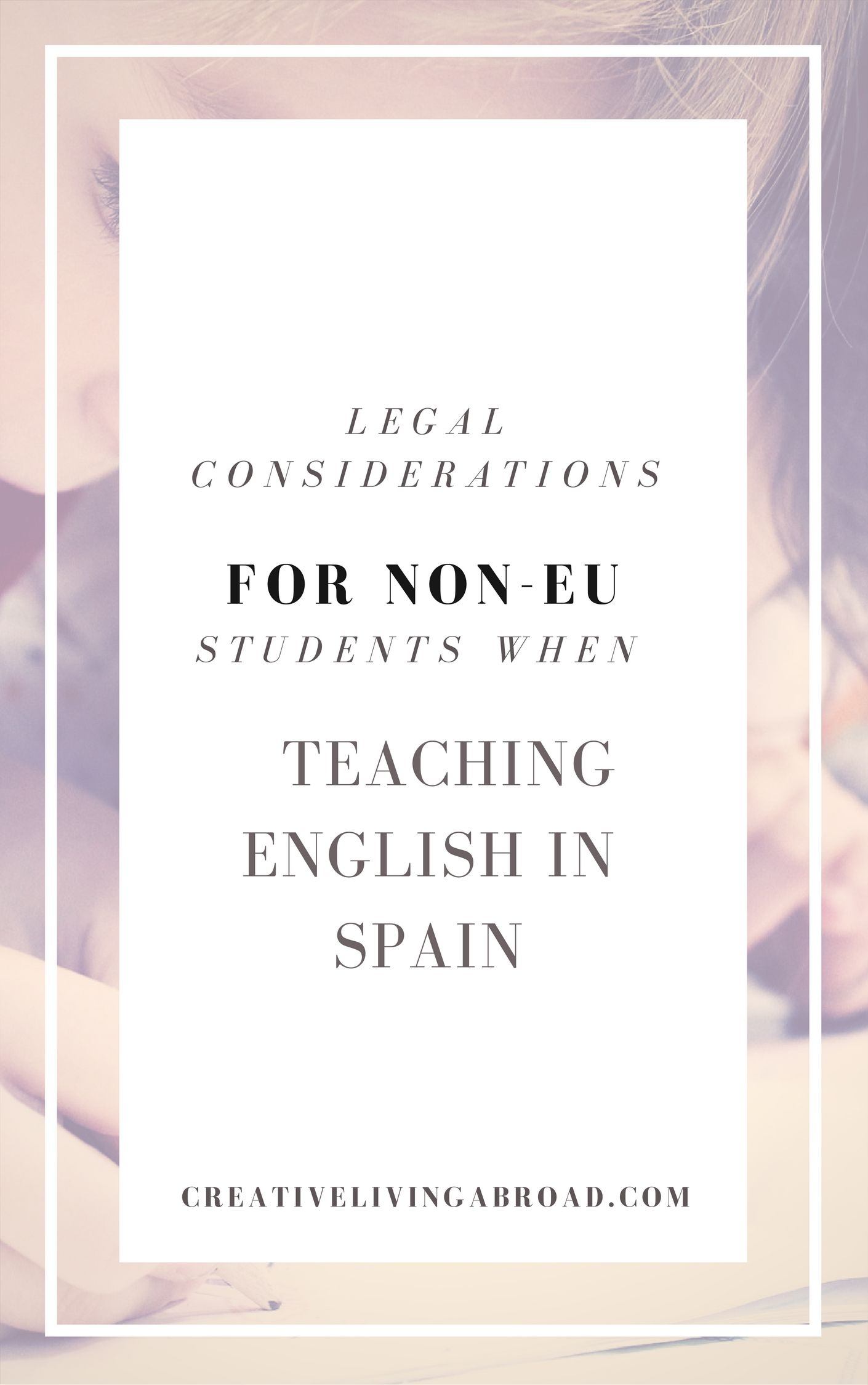 Legal Considerations For NonEU Students When Teaching