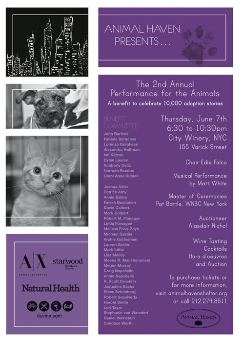 Animal Haven Presents The 2nd Annual Performance for the
