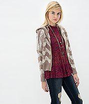 Gimmicks by BKE Open Weave Cardigan Sweater