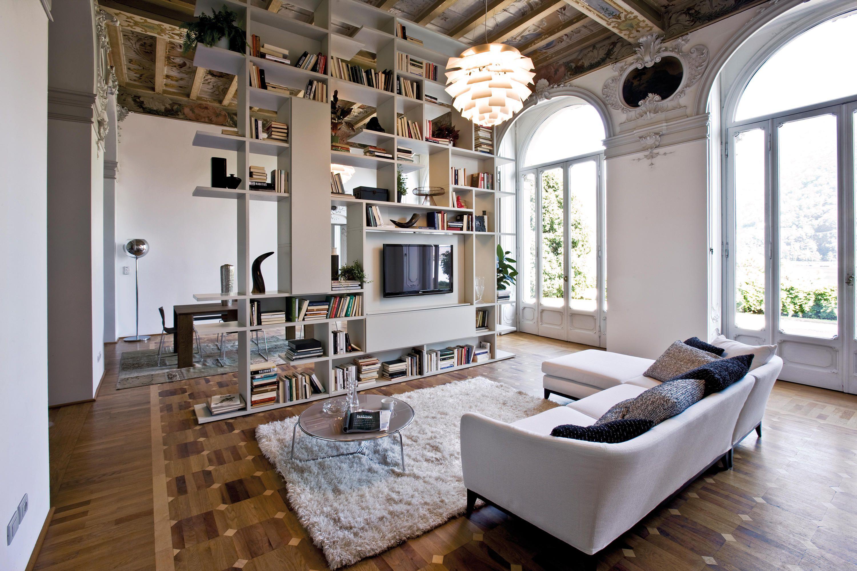 Mobili Contemporary Aufbewahrungsmobel Wohnzimmer Pari Dispari Presotto ...