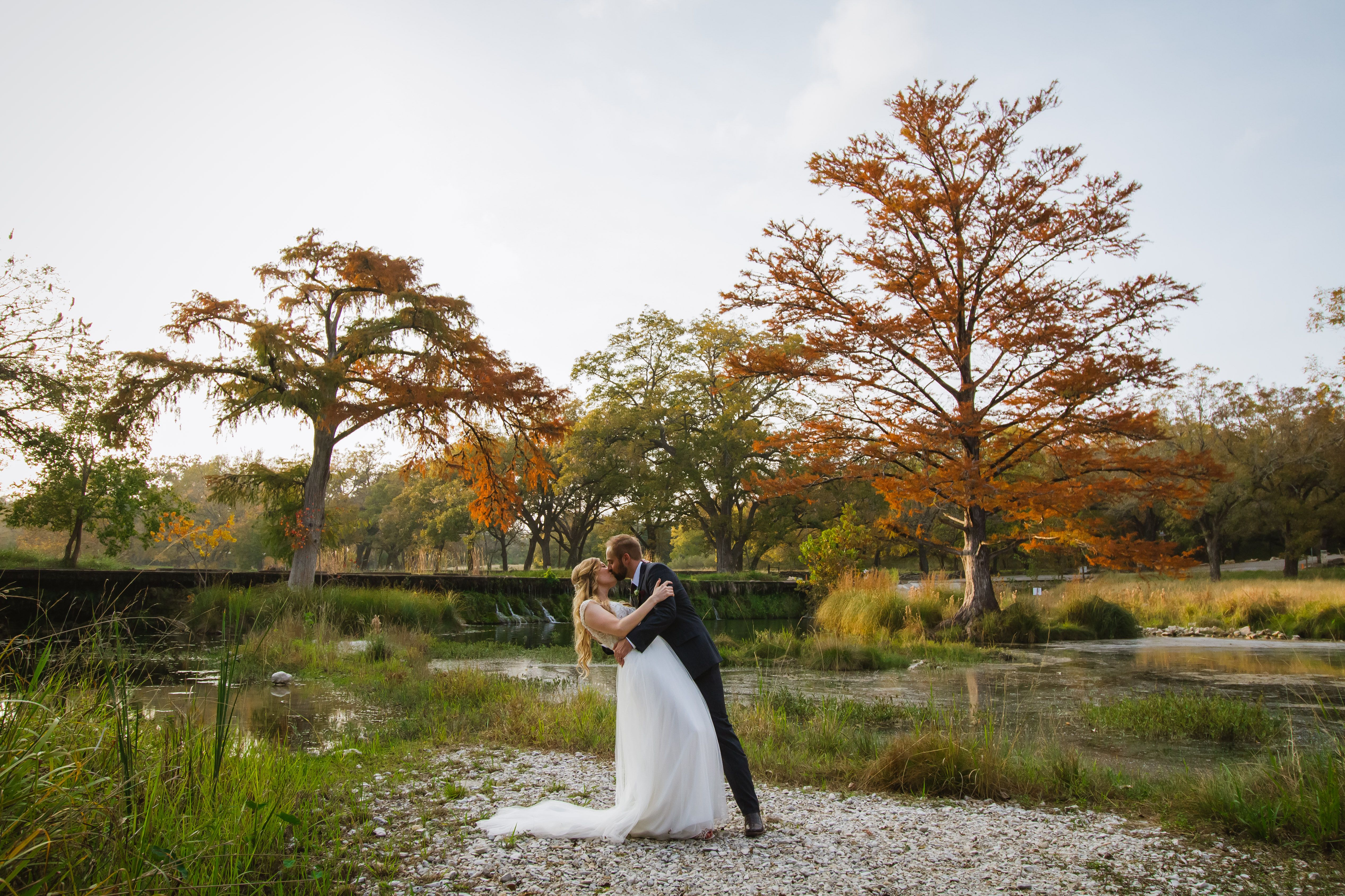 Outdoor weddings are the best weddings. - - # ...