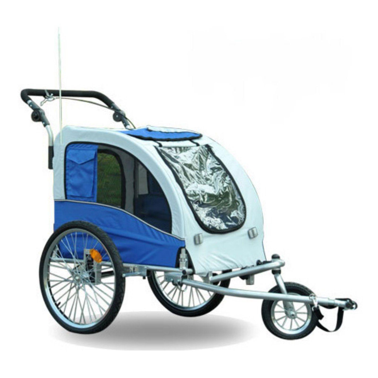 Aosom Elite II Pet Dog Bike Trailer Stroller Jogger with