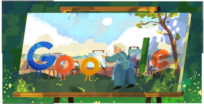 Pin på Google doodles 2020