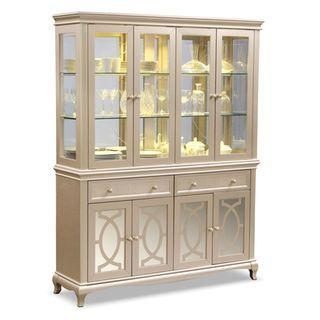 Allegro Buffet and Hutch - Platinum | dining room | Pinterest ...