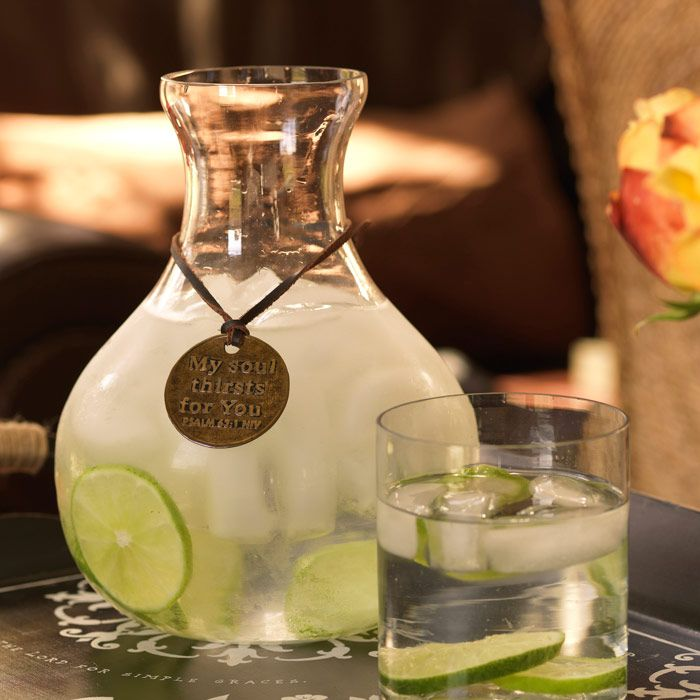 Blessings Unlimited Home Decor: Blessings Carafe-beautiful For The Dinner Table For The