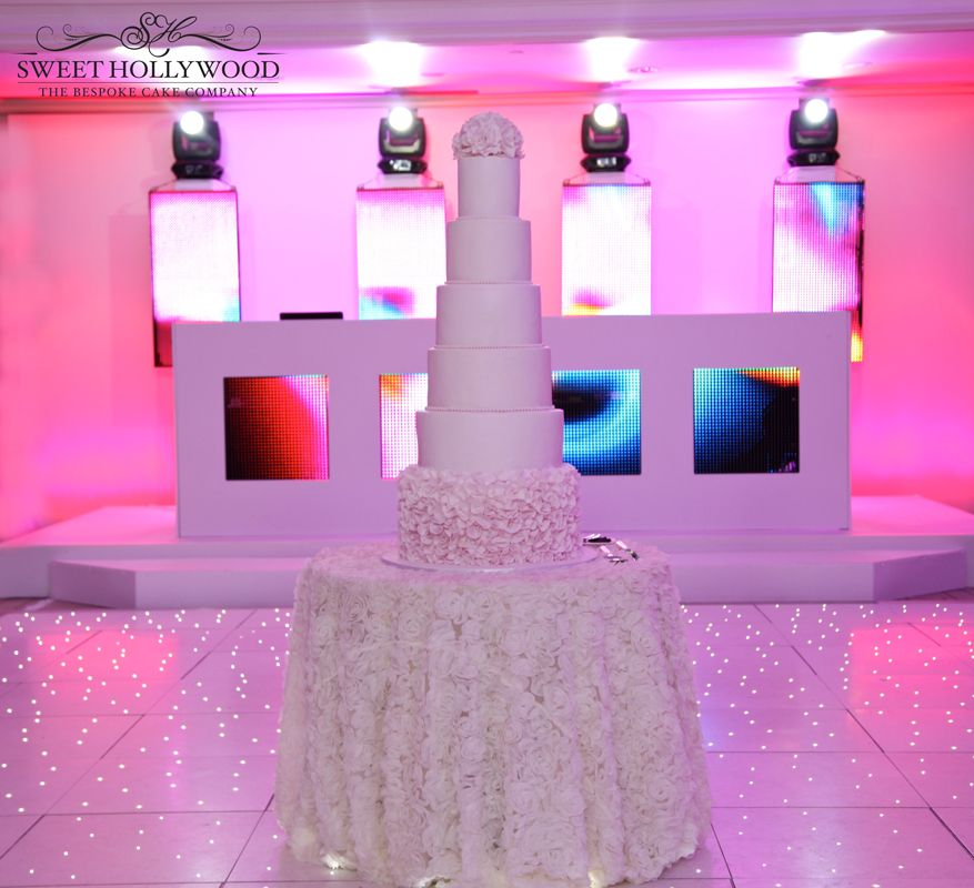 Luxury Wedding Cakes Designers Sweet Hollywood Present Pretty In Pink Cake InterContinental London