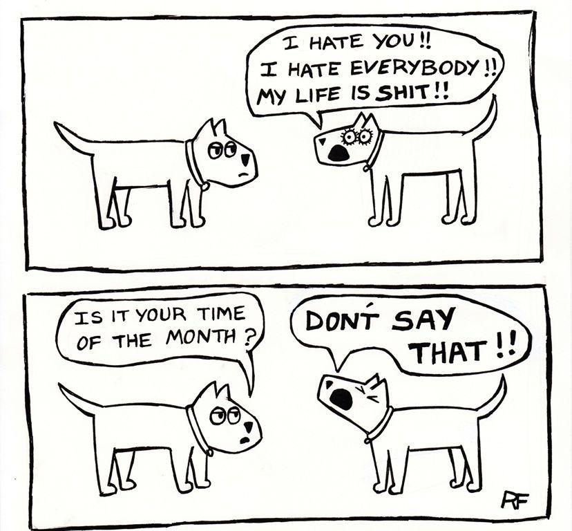 Forbidden Words... Cartoon dog, Dog life, Cartoon
