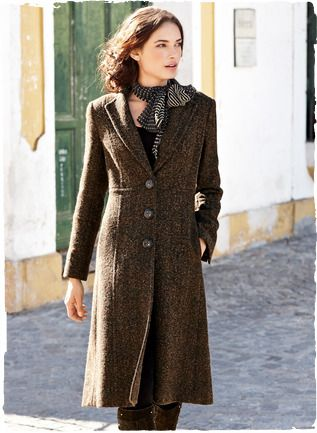 Timeless tweed coat (Peruvian Connection). | Urbane, Chic, and ...