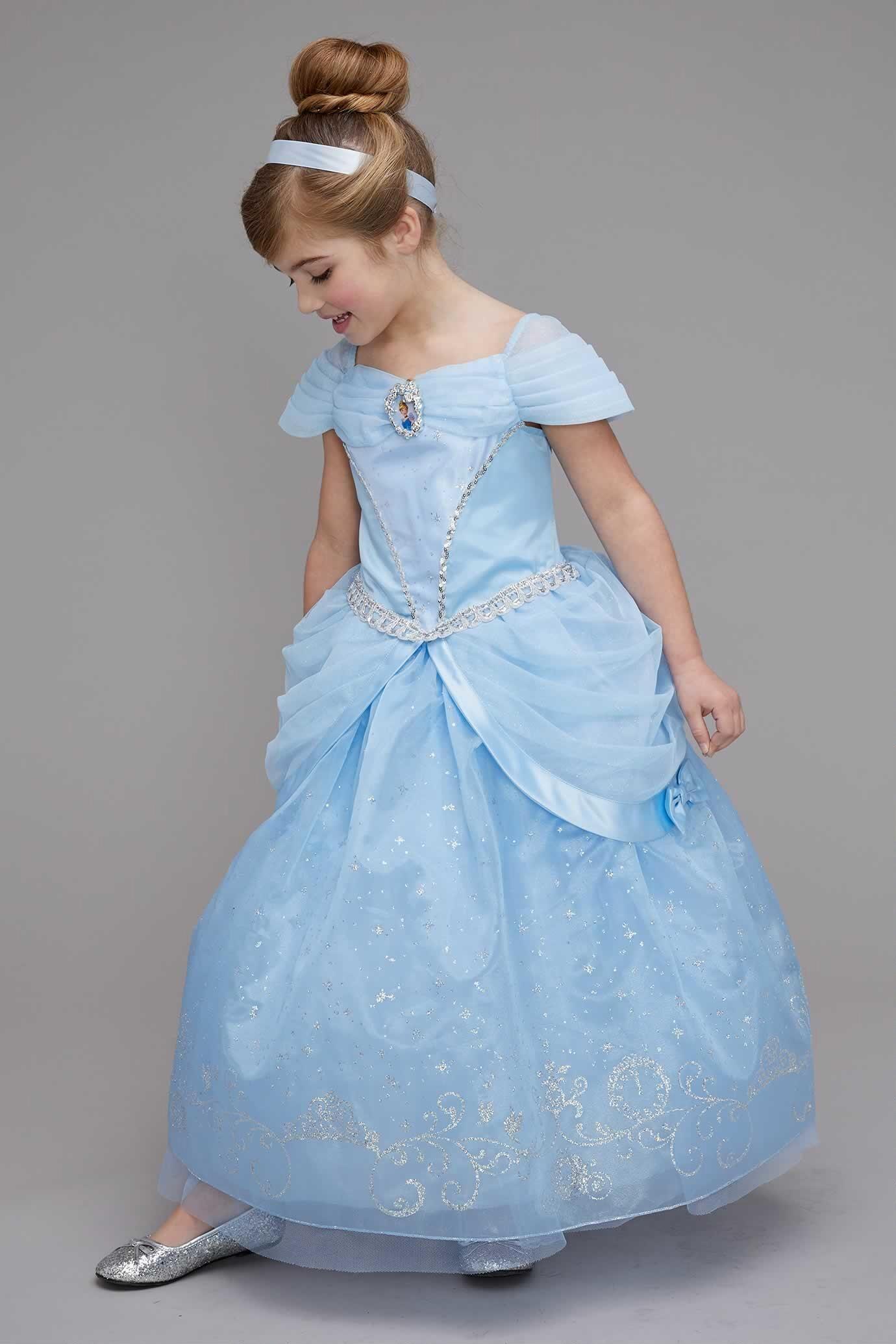 87148bb87c64c Cinderella Costume for Girls in 2019 | Grandkids Halloween costume ...