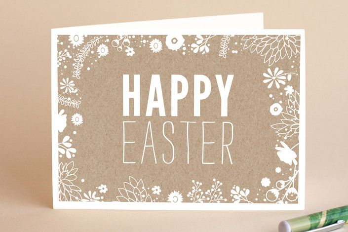 Easter kraft easter greeting cards by bethany ande minted easter kraft easter greeting cards by bethany ande m4hsunfo