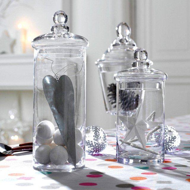 la bonbonni re en verre elda en d coration dans le salon. Black Bedroom Furniture Sets. Home Design Ideas