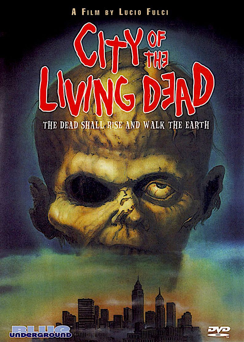 CITY OF THE LIVING DEAD DVD (BLUE UNDERGROUND) Zombie
