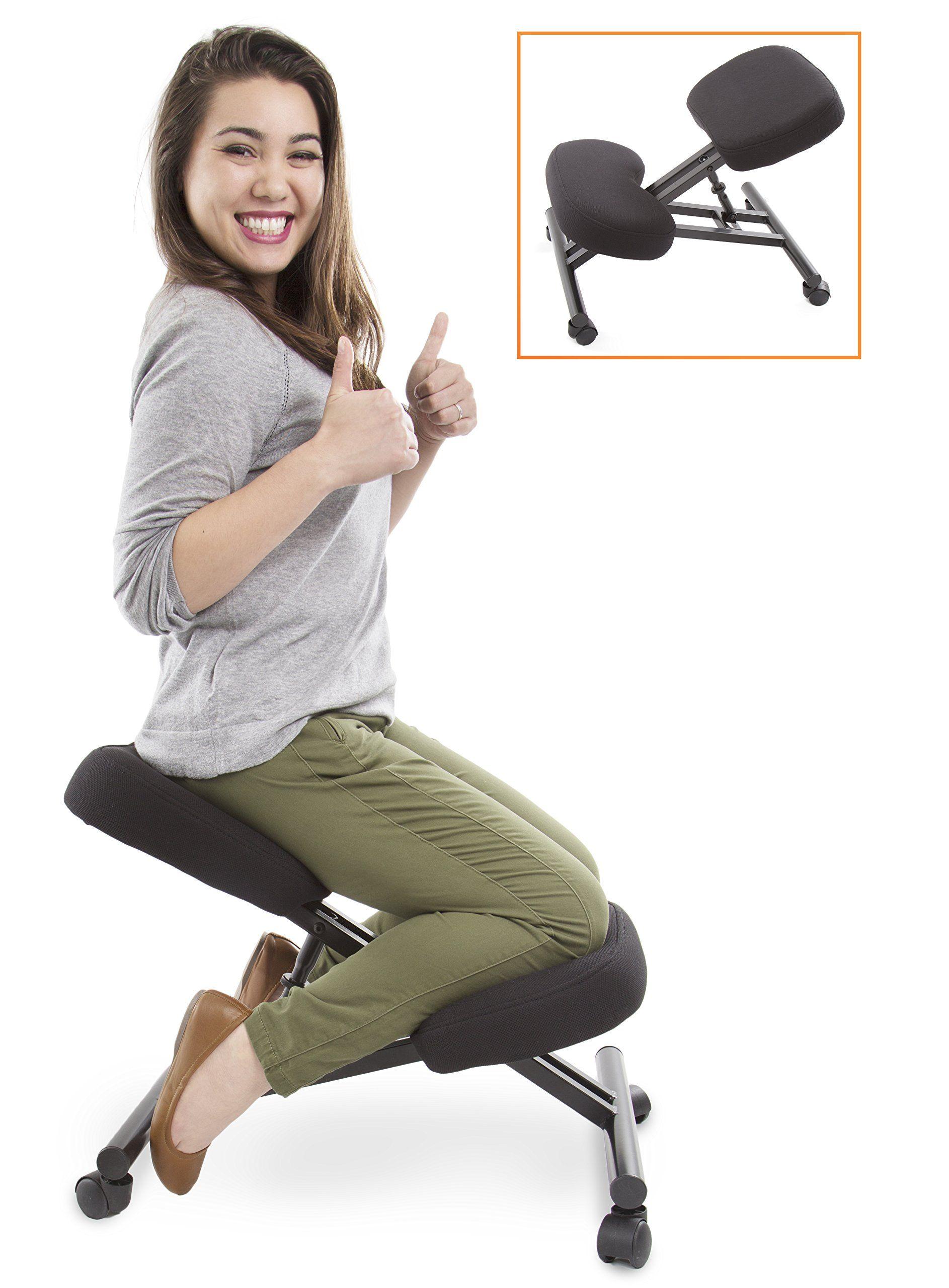 Proergo Ergonomic Kneeling Chair Adjustable Height Office
