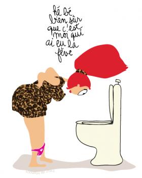 Oups dessins humoristiques la galette et galette des rois - Dessin sur galette des rois ...