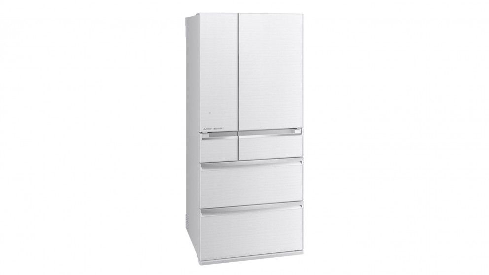 Mitsubishi Electric 743l Multi Drawer French Door Fridge White