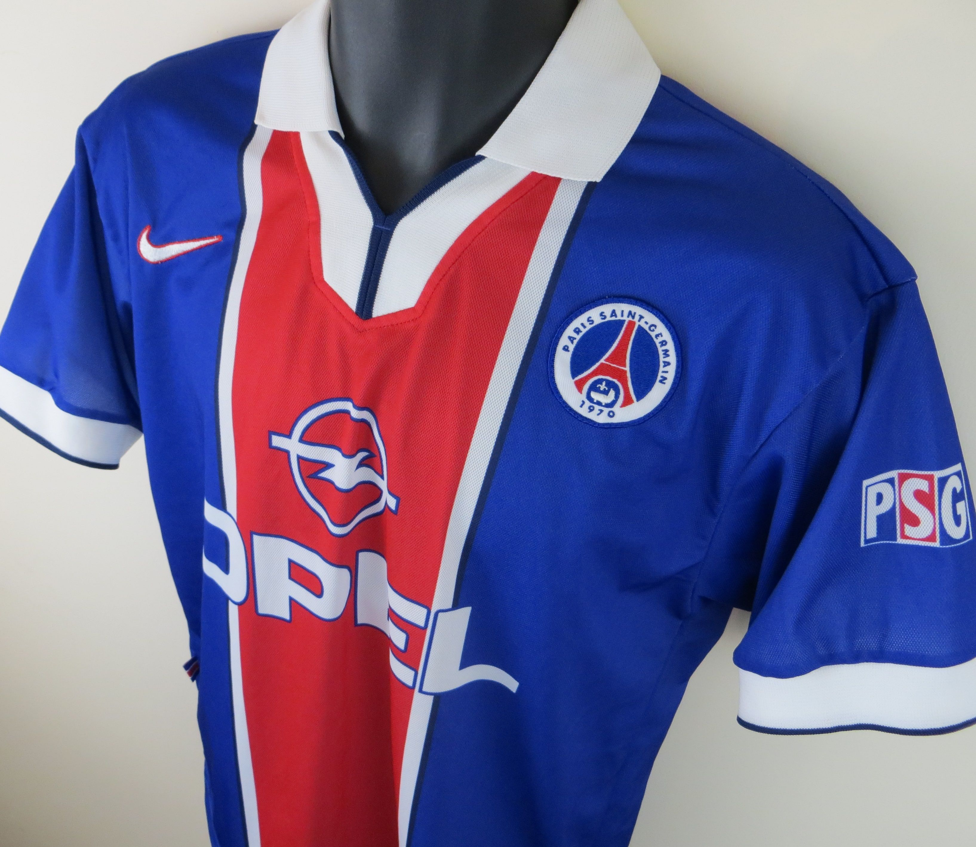 Classic Paris Saint Germain shirt by Nike  PSG  d886dcfdd44
