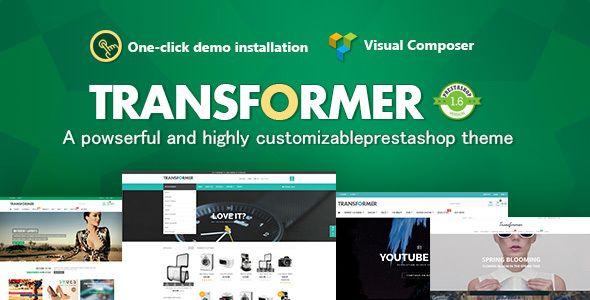 Transformer v3.2.9 - Responsive Prestashop Theme - https ...