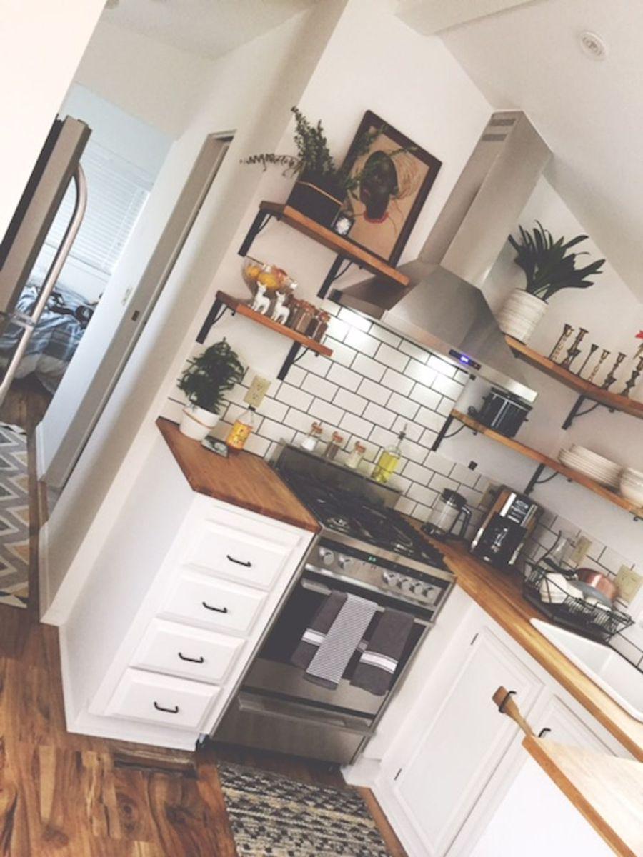 easy tiny house kitchen storage ideas 41 homes tiny house rh pinterest co uk