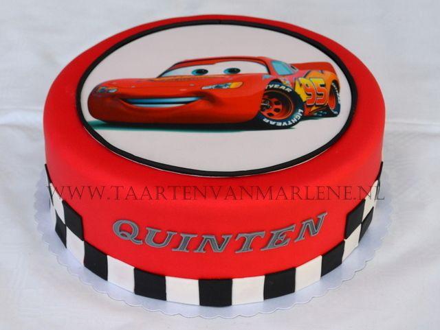 cars taart Cars taart met fotoprint. | Kinder taarten | Pinterest | Birthday  cars taart