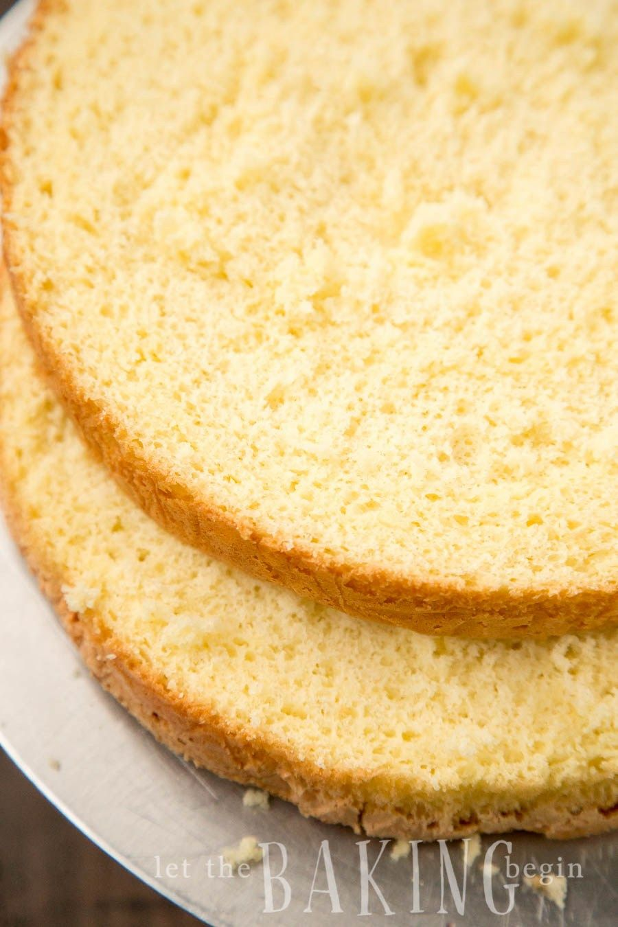3 Ingredient Sponge Cake Biskvit Easy Foolproof Recipe For A