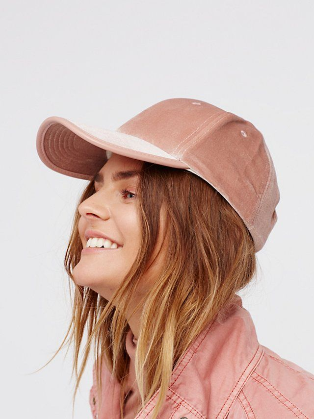 ea4c97709d8 Lady Luck Velvet Baseball Hat from Free People!