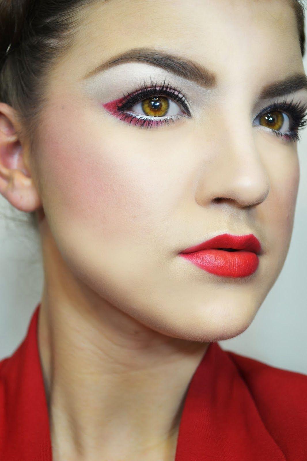 pics Geisha Makeup Tutorial for Halloween