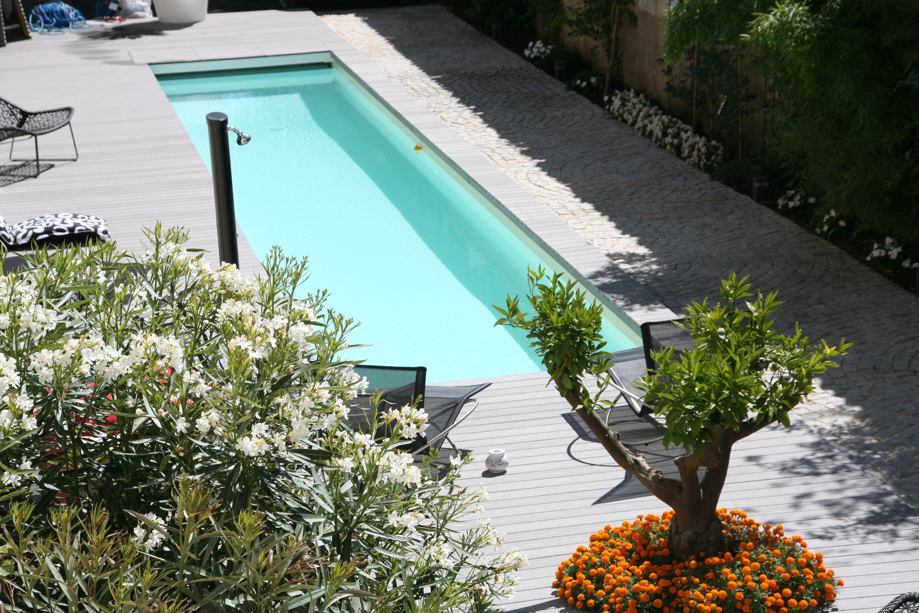 piscine beton caron