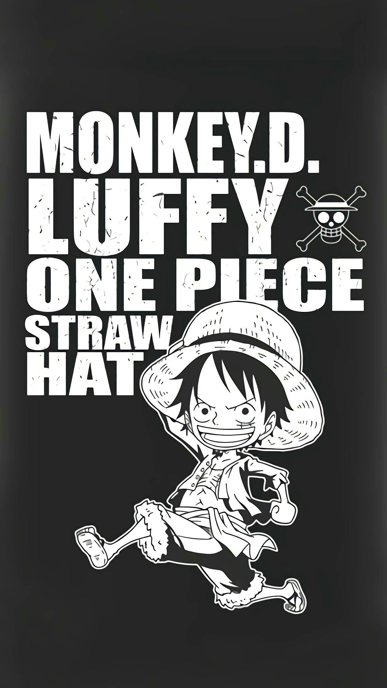 Monkey D Luffy One Piece Straw Hat Captain Seni Animasi Gambar Manga