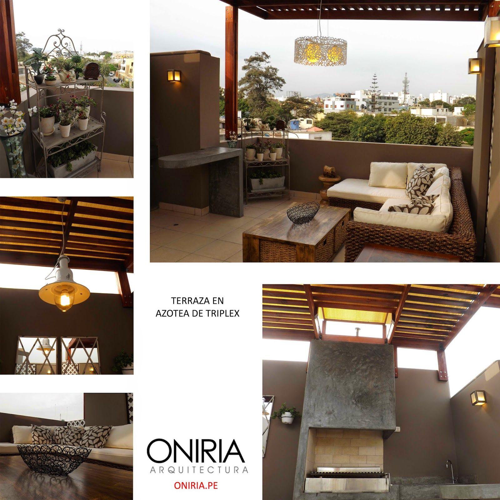 Dise o de terraza parrillas oniria arquitectura pinterest terrazas dise o de terraza y - Diseno de terraza ...