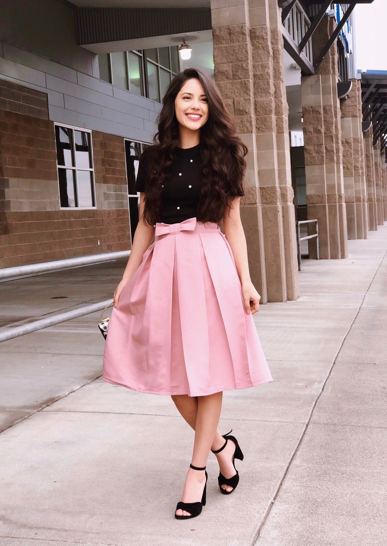 Bows for Princesses Midi skirt in 2020 Western dresses