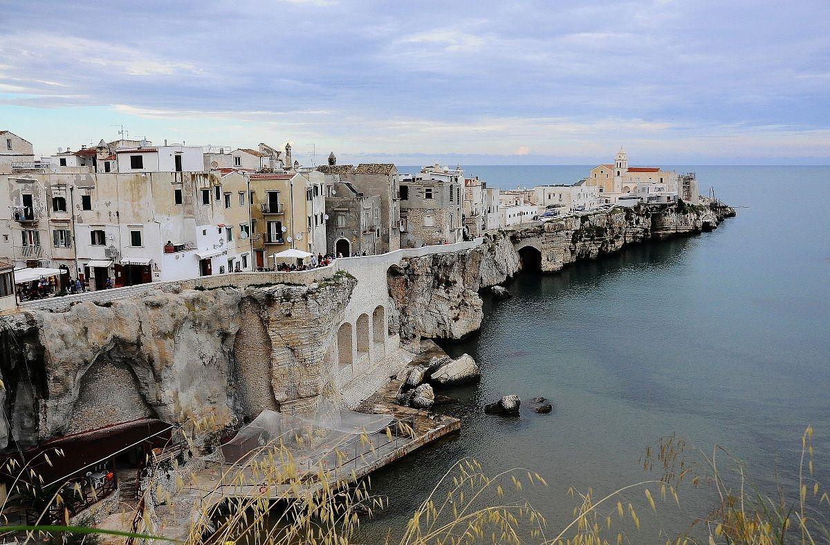 Scorcio di Vieste Viaggi, Puglia italia, Idee per le vacanze