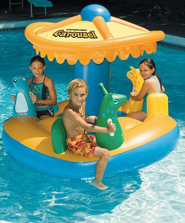 Carousel float by swimline pool toys cool flotadores for Salvavidas para piscinas