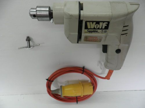 Wolf Sapphire Electric Drill 110v, a bit of history | UKHS