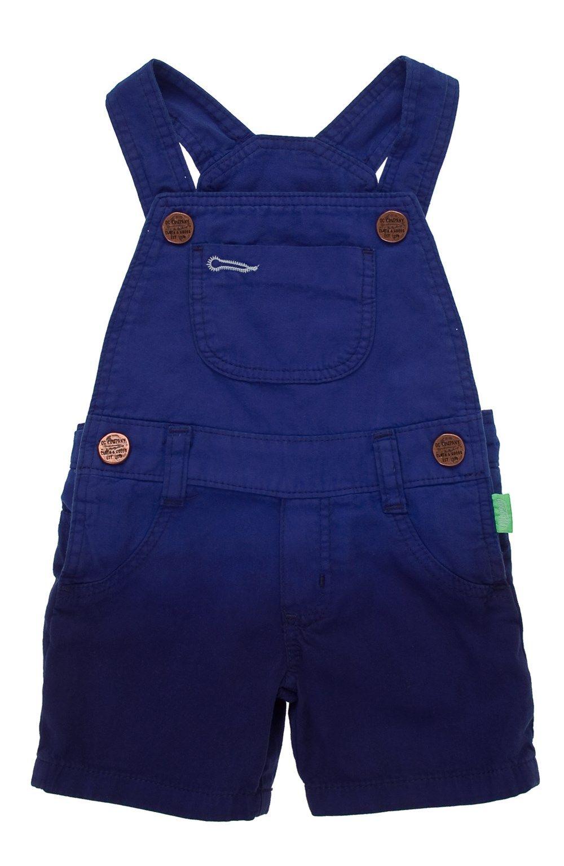 3adaf8ba0 Overall corto en tejido plano para bebe niño.Compra en la tienda On Line de  Off Corss - OFFCORSS