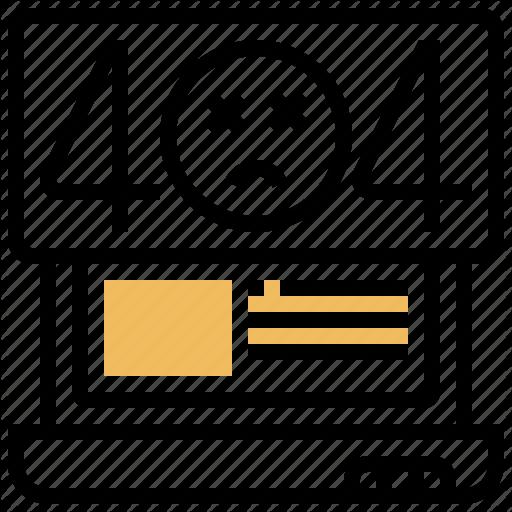 Crash Disconnect Error Failure Problem Icon Download On Iconfinder Web Design Icon Flat Design Icons Icon