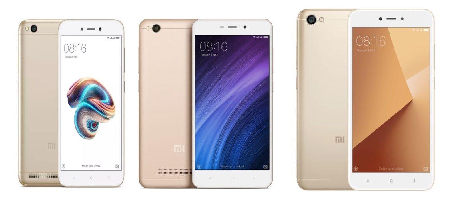 Xiaomi Redmi 5A vs Redmi 4A vs Redmi Y1 Lite : HD Display ...